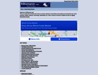 kbismarck.org screenshot