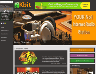 kbitradio.com screenshot
