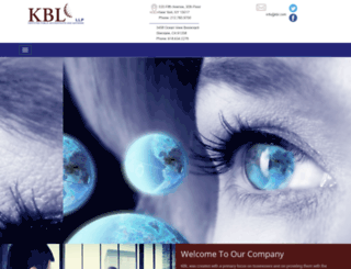 kbl.com screenshot