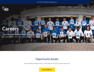kbrjobs.com screenshot