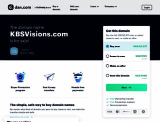 kbsvisions.com screenshot