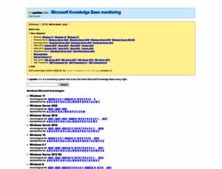 kbupdate.info screenshot
