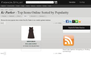 kc-parker.fashionstylist.com screenshot