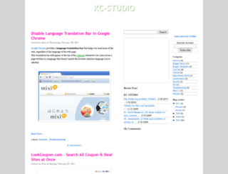 kc-studio.blogspot.com screenshot