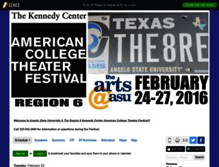 kcactfregion6festival2016.sched.org screenshot