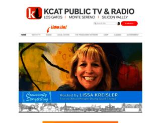 kcat.org screenshot
