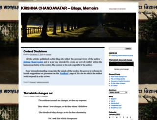 kcavatar.wordpress.com screenshot