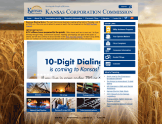 kcc.state.ks.us screenshot
