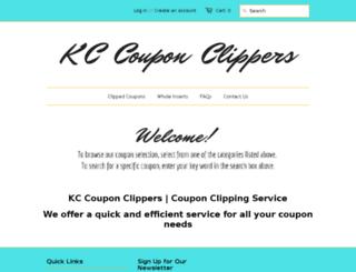 kccouponclippers.com screenshot