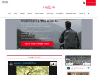 kce.kabbalah.com screenshot