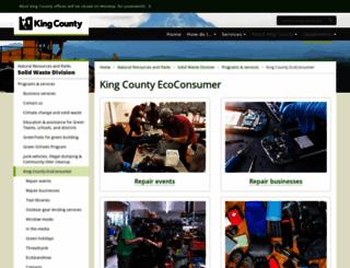 kcecoconsumer.com screenshot