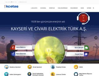 kcetas.com.tr screenshot