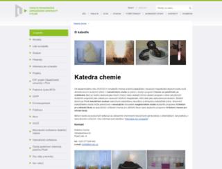 kch.zcu.cz screenshot