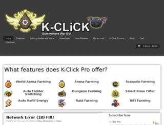kclickpro.com screenshot