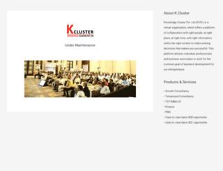 kcluster.com screenshot