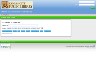 kcmo.sirsi.net screenshot