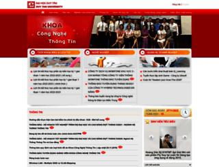 kcntt.duytan.edu.vn screenshot
