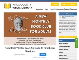 kcpl.lib.in.us screenshot