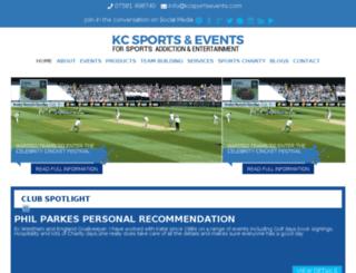 kcsportsevents.com screenshot