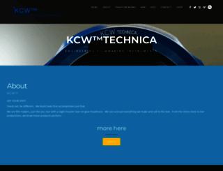 kcwtechnica.com screenshot