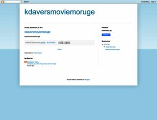kdaversmoviemoruge.blogspot.com screenshot