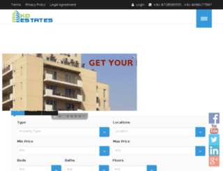kdestates.com screenshot