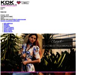 kdklondon.com screenshot