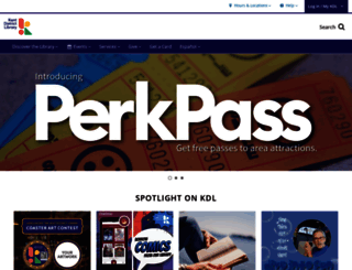 kdl.org screenshot