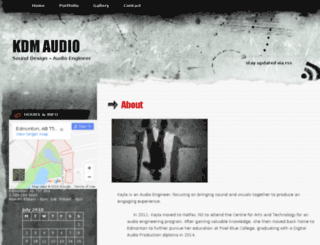 kdmaudio.com screenshot