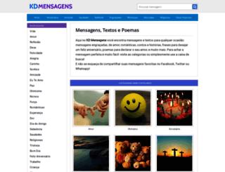 kdmensagens.com screenshot