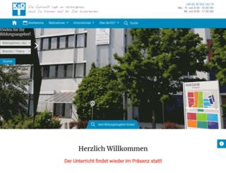 kdt-bildung.de screenshot