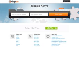 ke.gigajob.com screenshot