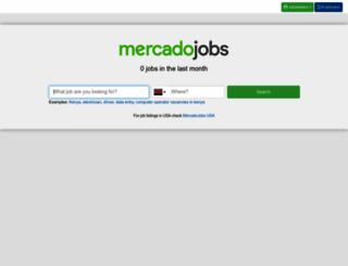 ke.mercadojobs.com screenshot