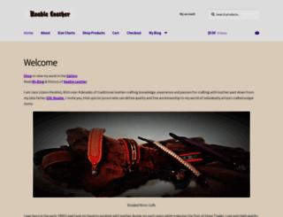 keableleather.com.au screenshot