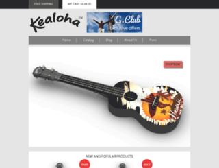 kealohamusic.com screenshot