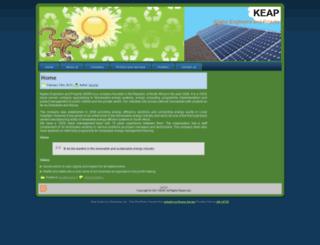 keap.co.za screenshot