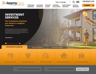 kearnybank.com screenshot