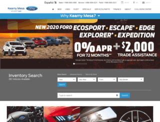 kearnypearsonford.com screenshot