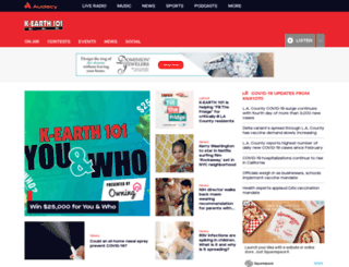 kearth101.com screenshot