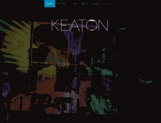 keaton-official.com screenshot