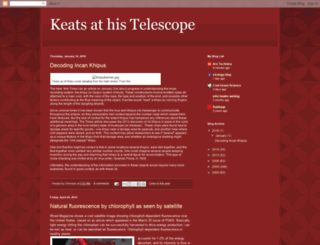keatstelescope.blogspot.se screenshot