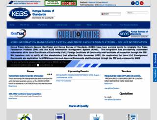 kebs.org screenshot