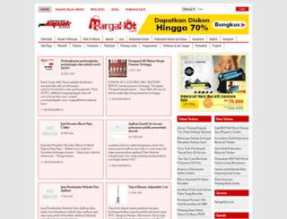 kebutuhan-kantor.pelapak.com screenshot