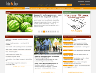 kecskemet.hir6.hu screenshot