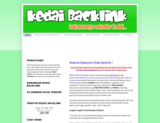 kedaibacklink.blogspot.com screenshot