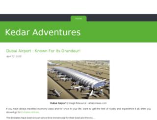 kedaradventures.bravesites.com screenshot