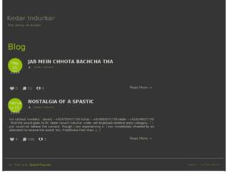 kedarindurkar.com screenshot