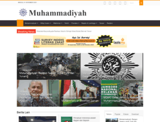 kediri.muhammadiyah.or.id screenshot
