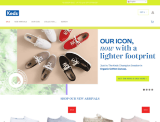 keds.co.uk screenshot