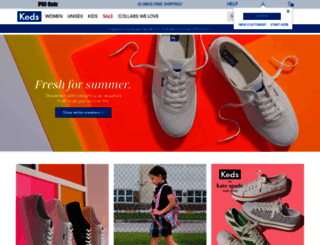 keds.com screenshot
